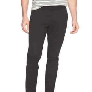 Banana Republic Mason Stretch Chino (Black)